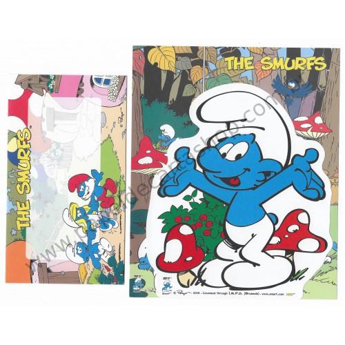 Conjunto de Papel de Carta IMPORTADO Os Smurfs M2