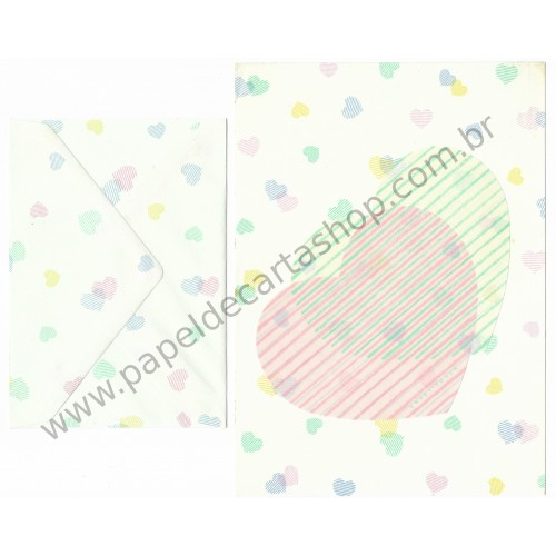 Conjunto de Papel de Carta Vintage Sweet Touch Victoria Fancy