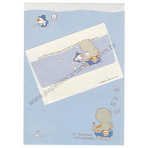 Conjunto de Papel de Carta Antigo (Vintage) Dr Hooper - Mon Ami Japan