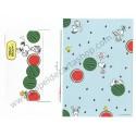 Conjunto de Papel de Carta Snoopy Watermelon2 - Vintage Peanuts Hallmark