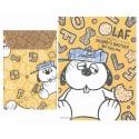 Ano 2012. Conjunto de Papel de Carta Snoopy and Olaf - Peanuts Delfino Japan