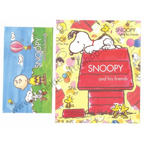 Conjunto de Papel de Carta Snoopy & His Friends CAM - Peanuts