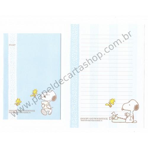 Conjunto de Papel de Carta Snoopy And Woodstock LC CAZ - Peanuts