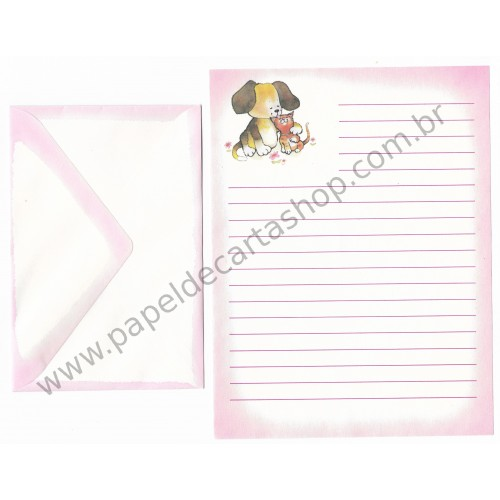 Conjunto de Papel de Carta Antigo Importado Friends