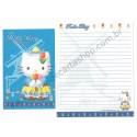 Ano 1999. Conjunto de Papel de Carta Hello Kitty Especial Holanda Sanrio