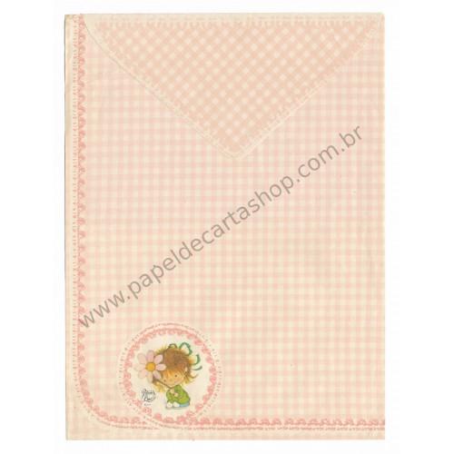 Conjunto de Papel de Carta Antigo Coleção Palacio's Line PC 101