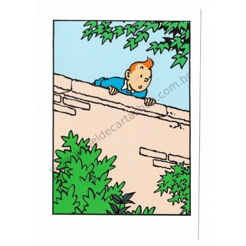 Cartão Postal Importado Tin Tin 2