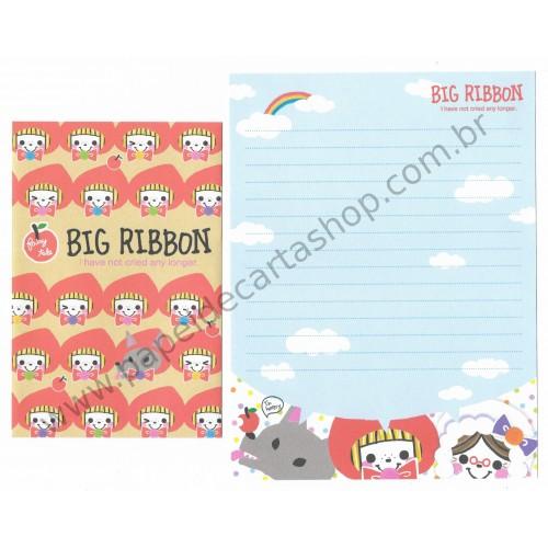 Conjunto de Papel de Carta Big Ribbon Q-Lia Japan