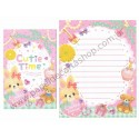 Conjunto de Papel de Carta CUTIE TIME (A) - Q-Lia Japan