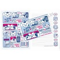 Conjunto de Papel de Carta HAPPY DOG - Art-Box Korea