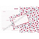 Conjunto de Papel de Carta Straw Berry - Art-Box Korea