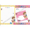 Conjunto de Papel de Carta Woody & Dolly Dupla - Art-Box Korea