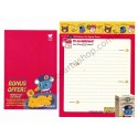 Conjunto de Papel de Carta LITTLE MOUSE CVM - Art-Box Korea