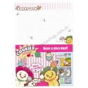 Papel de Carta AVULSO COOKIES - Art-Box Korea