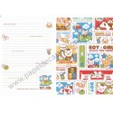 Papel de Carta AVULSO Happy Dog Boy & Girl - Art-Box Korea