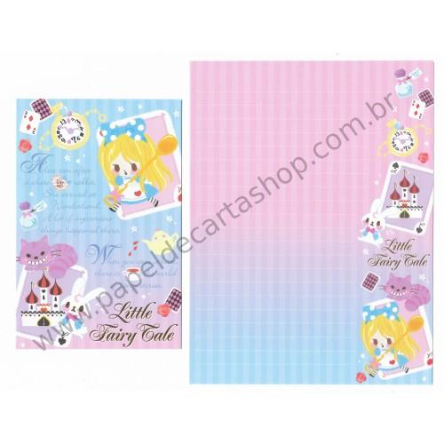 Conjunto de Papel de Carta Little Fairy Tale Alice - Q-Lia Japan