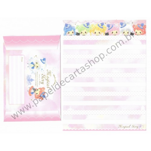 Kit 2 Conjuntos de Papel de Carta Magical Story - Crux Japan