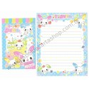 Conjunto de Papel de Carta Importado MILK - Japan