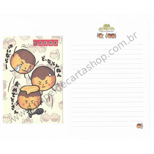 Conjunto de Papel de Carta Importado - Kamio Japan