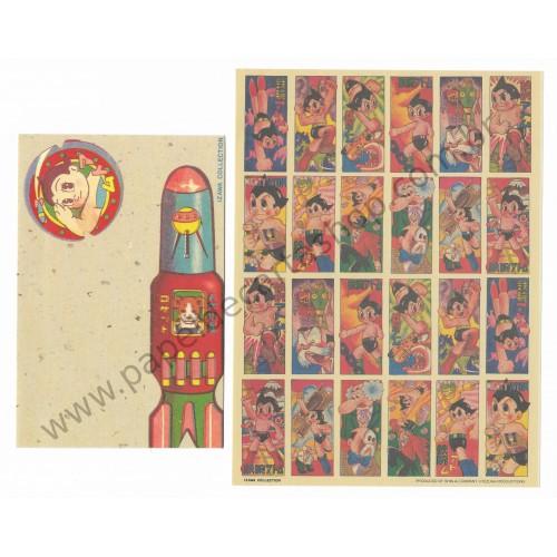 Conjunto de Papel de Carta Importado ASTRO BOY - TEZUKA Japan