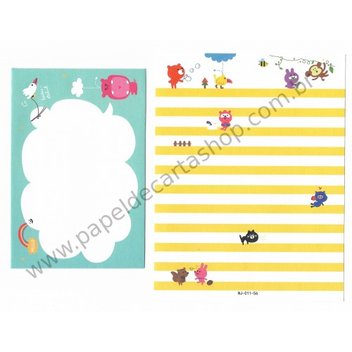 Conjunto de Papel de Carta Importado Ninge Beautiful - China