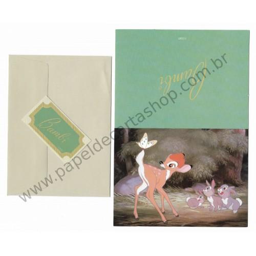Cartão Disney Bambi