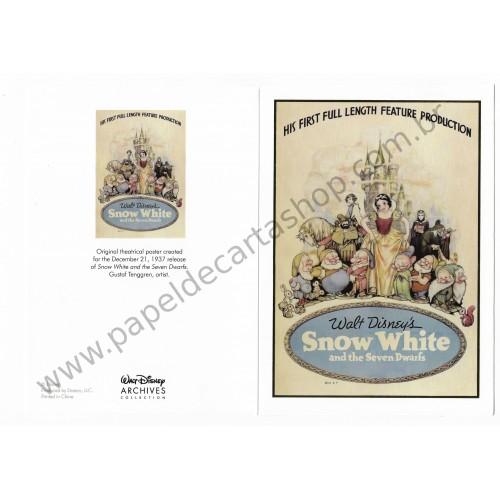 Coleção Disney Archives Snow White
