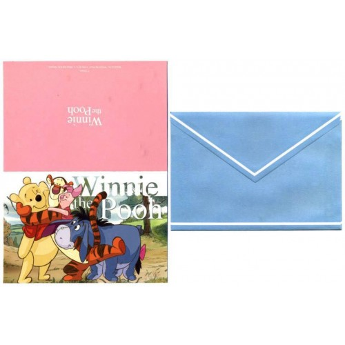 Coleção Disney Winnie the POOH - 6 Collectible Notecards