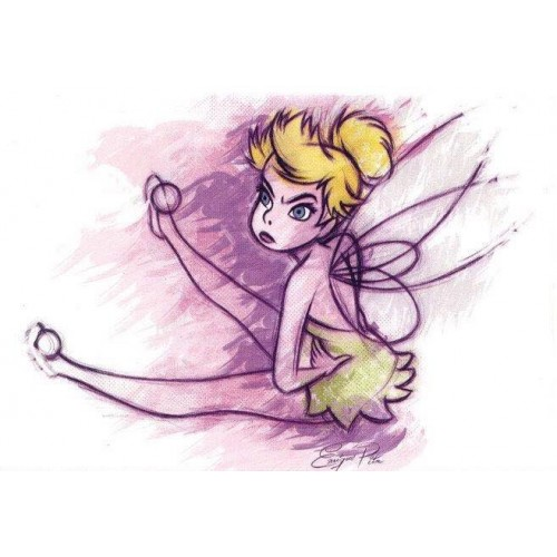 Coleção Disney Tinker Bell - 5 Collectible Notecards
