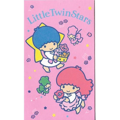 Ano 1988. Mini-Envelope Little Twin Stars Vintage Sanrio