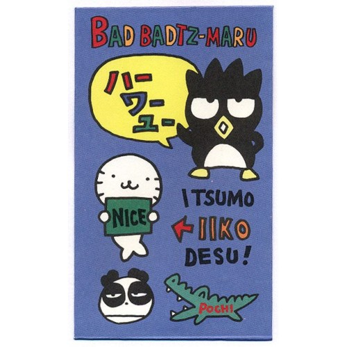 Ano 1996. Mini-Envelope BADTZ-MARU Vintage Sanrio