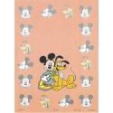 Papel de Carta Antigo Disney Mickey & Pluto - Best Cards