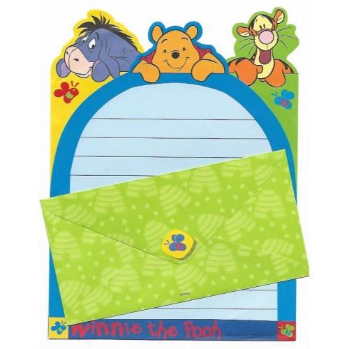 Conjunto de Papel de Carta Disney Pooh & Tigger - Disney