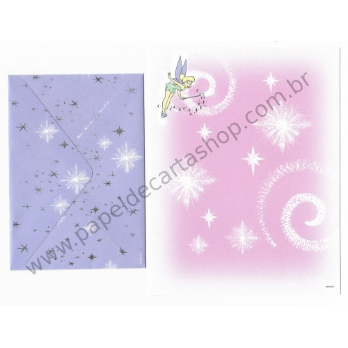 Conjunto de Papel de Carta Disney Tinker Bell - Disney