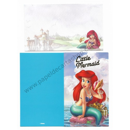 Cartão Importado Disney Little Mermaid