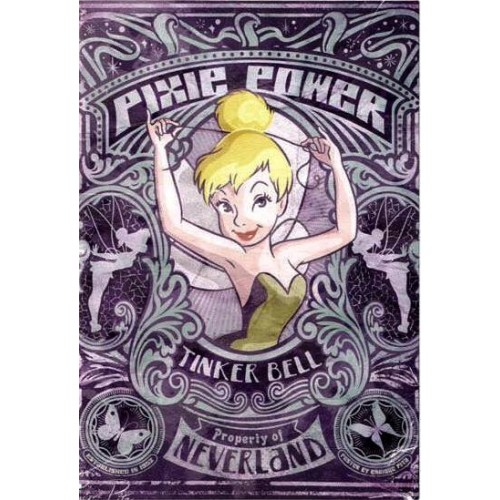 Cartão Importado Disney Tinker Bell - Pixie Power