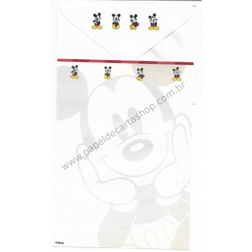 Conjunto de Papel de Carta VINTAGE Disney - Mickey Mouse CVM