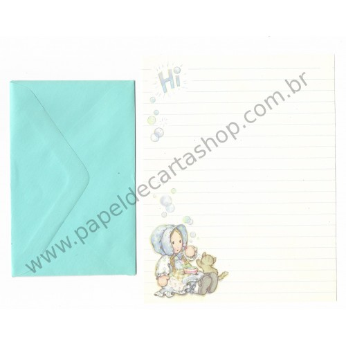 Conjunto de Papel de Carta Holly Hobbie M73