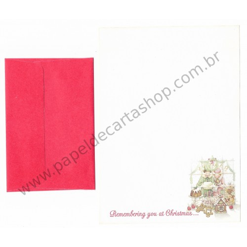Conjunto de Papel de Carta Holly Hobbie P75