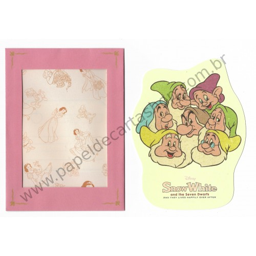 Conjunto de Papel de Carta Disney Snow White P Sun-Star (CRS)