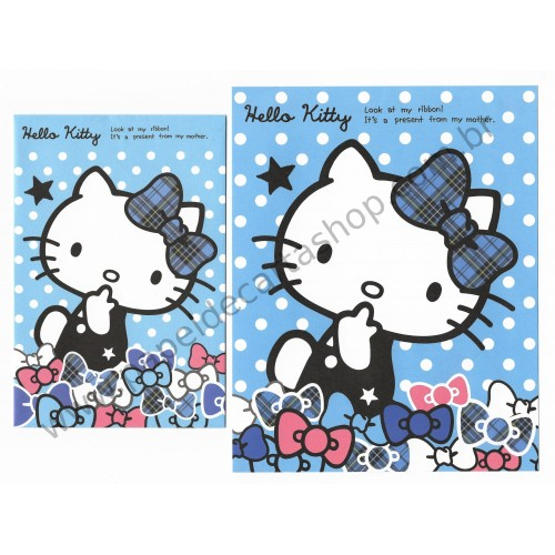 Ano 2013. Conjunto de Papel de Carta Hello Kitty CAZ Sanrio