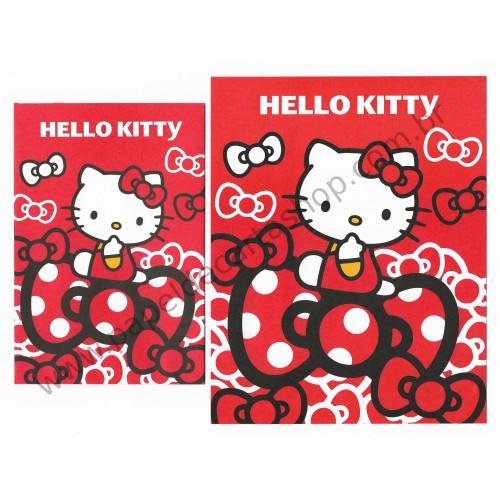 Ano 2013. Conjunto de Papel de Carta Hello Kitty My Ribbons CVM Sanrio