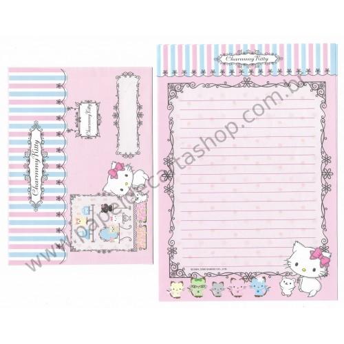 Ano 2006. Conjunto de Papel de Carta Charmmy Kitty RAZ Sanrio