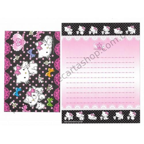 Ano 2005. Conjunto de Papel de Carta Charmmy Kitty BLR Sanrio