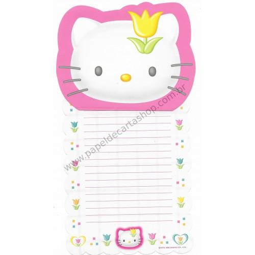 Ano 1999. Conjunto de Papel de Carta Hello Kitty FL CBR - Sanrio Japão