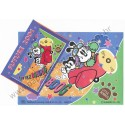 Conjunto de Papel de Carta Antigo (Vintage) Little Bobdog Airplane Wealthyluck Sunward