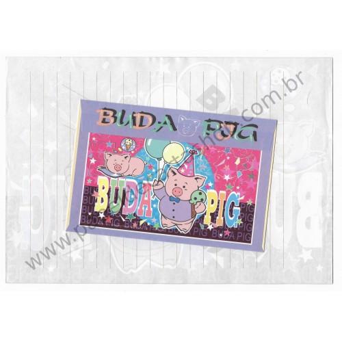 Conjunto de Papel de Carta Antigo (Vintage) Buda Pig CPK Wealthyluck