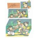 Ano 1985. Conjunto de Papel de Carta Sanrio (Vintage) Joyful Land