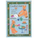 Ano 1995. Conjunto de Papel de Carta Cookie Club Vintage Sanrio