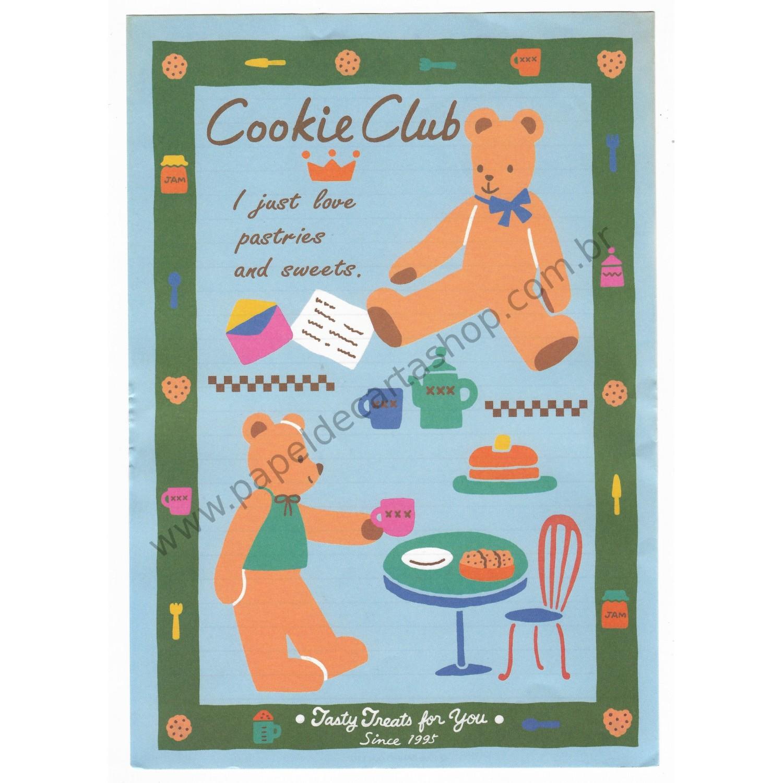 Ano 1995. Conjunto de Papel de Carta Cookie Club Vintage Sanrio1500 x 1500 jpeg 307kB
